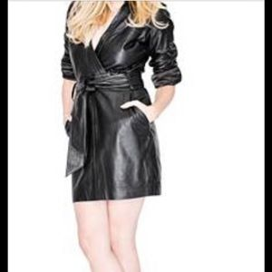 Marciano Leather Dress